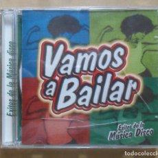 CDs de Música: CD - VAMOS A BAILAR - EXITOS DE LA MUSICA DISCO -. Lote 271595603