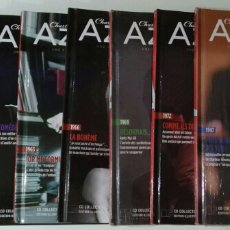 CDs de Música: LOTE DE 8 LIBROS + 8 CD'S CHARLES AZNAVOUR. Lote 271596258