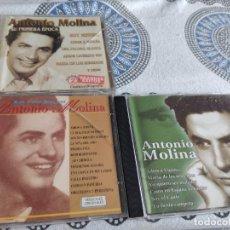 CDs de Música: G-81 LOTE 3 CD MUSICA DE ANTONIO MOLINA LOS DE FOTO. Lote 271610668
