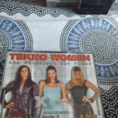 CDs de Música: G-81 CD MUSICA CD LAS GUERRERAS DEL TEKNO FALTA EL CD DE DJ RACHEL. Lote 271613588