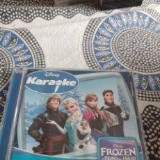 CDs de Música: G-81 CD MUSICA CD DISNEY KARAOKE FROZEN EL REINO DEL HIELO. Lote 271614088