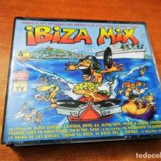 CDs de Música: IBIZA MIX 4 CD ALBUM DEL AÑO 2000 EIVISSA CHICANE BRYAN ADAMS ESSENTIAL ROSLYN SPILLER 59 TEMAS. Lote 271648933