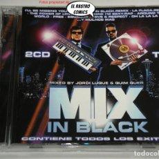 CDs de Música: MIX IN BLACK, DOBLE, 2 CD, BLANCO Y NEGRO, 1997, MEN, BSO, B S O. Lote 271655733