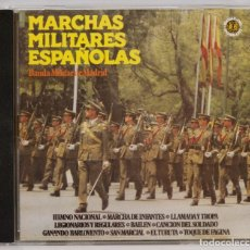 CDs de Música: CD- MARCHAS MILITARES ESPAÑOLAS. BANDA MILITAR DE MADRID. Lote 271656193