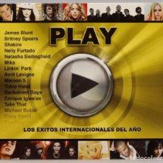 CDs de Música: 2 CD. PLAY. LOS EXITOS INTERNACIONALES DEL AÑO. Lote 271657133