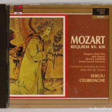 CDs de Música: CD. MOZART. REQUIEM KV 626. CELIBIDACHE. Lote 271659073