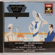 CDs de Música: CD. ANYTHING GOES. Lote 271660143