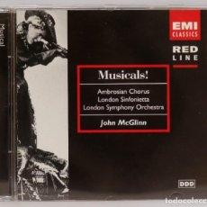 CDs de Música: CD. MUSICALS. AMBROSIAN CHORUS. LONDON SYMPHONY ORCHESTRA. JOHN MCGLINN. Lote 271660453