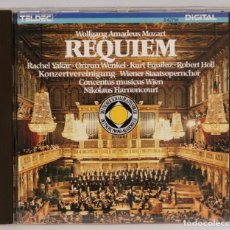 CDs de Música: CD. MOZART. REQUIEM. TELDEC. Lote 271661628