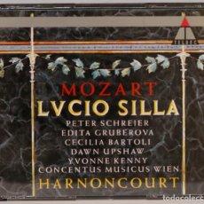 CD de Música: 2 CD. LVCIO SILLA. MOZART. HARNONCOURT. Lote 271663088