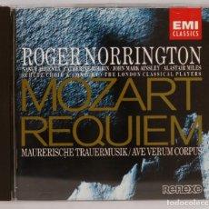 CDs de Música: CD. MOZART. REQUIEM. NORRINGTON. Lote 271664323