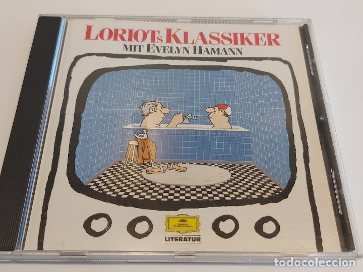 EVELYN HAMANN / LORIOTS KLASSIKER / CD-D. GRAMMOPHON LITERATUR / 20 TEMAS / IMPECABLE. (Música - CD's Otros Estilos)
