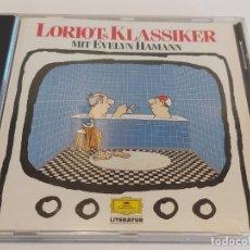 CDs de Música: EVELYN HAMANN / LORIOTS KLASSIKER / CD-D. GRAMMOPHON LITERATUR / 20 TEMAS / IMPECABLE.. Lote 271844328
