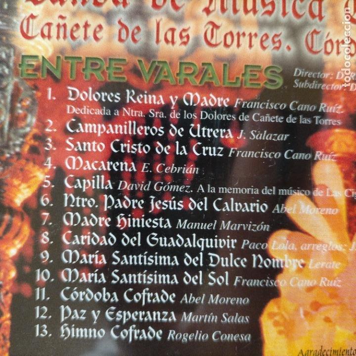 CDs de Música: DIFISILISIMO CD SEMANA SANTA ENTRE VARALES BANDA DE MUSICA CUBAMIRUM CAÑETE DE LAS TORRES CORDOBA - Foto 2 - 271899703