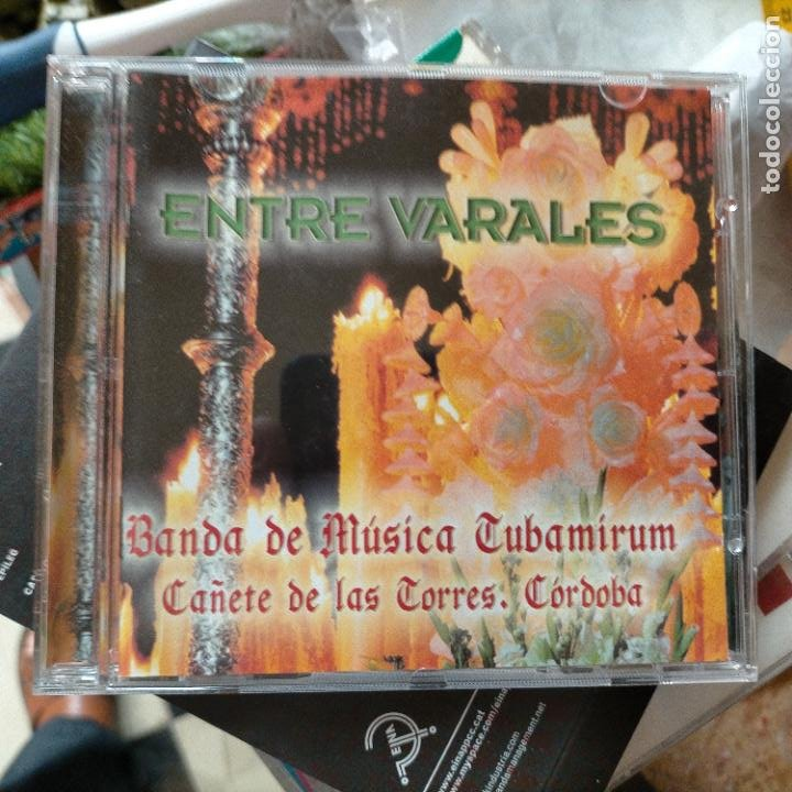 CDs de Música: DIFISILISIMO CD SEMANA SANTA ENTRE VARALES BANDA DE MUSICA CUBAMIRUM CAÑETE DE LAS TORRES CORDOBA - Foto 3 - 271899703