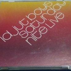CDs de Música: CD ( IDJUT BOYS - SATURDAY NITE LIVE ) 2000 NUPHONIC - PROBADO. Lote 271902343
