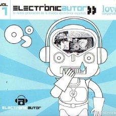 CDs de Música: ELECTRONIC AUTOR - VOL2. Lote 271902698