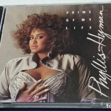 CDs de Música: CD ( PHYLLIS HYMAN: PRIME OF MY LIFE ) 1991 VOLCANO RECORDS.- PROBADO. Lote 271903093