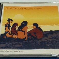 CDs de Música: CD (CAFÉ DEL MAR - VOLUMEN SEIS ) ALBUM 1999 CAFÉ DEL MAR - CHILLOUT CHILL OUT - JOSÉ PADILLA. Lote 271911578