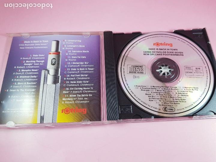CDs de Música: CD-JAZZ-ROTRING-W. GERMANY-17 TEMAS-EXCELENTE-COLECCIONISTAS - Foto 3 - 271911973