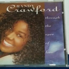 CDs de Música: CD ( RANDY CRAWFORD: THROUGH THE EYES OF LOVE ) WARNER BROS 1992 -. Lote 271912278