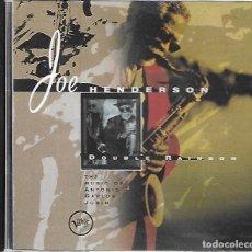 CDs de Música: JOE HENDERSON: DOUBLE RAINBOW. Lote 271966263