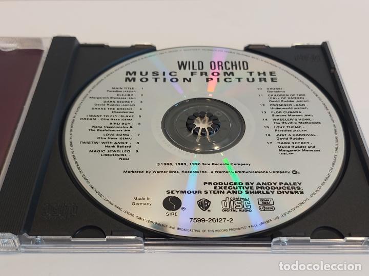 CDs de Música: B.S.O. !! WILD ORCHID / ZALMAN KING / CD - WB / 16 TEMAS / IMPECABLE. - Foto 2 - 271989863