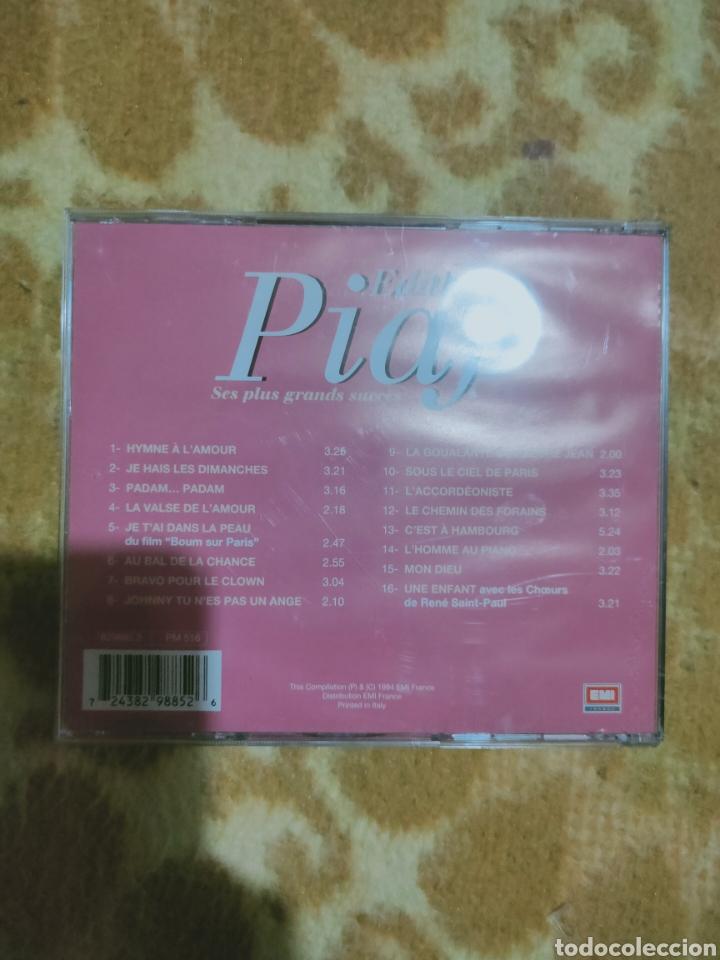 CDs de Música: Edith piaf - ses plus Grands success cd - Foto 2 - 271990233