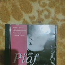CDs de Música: EDITH PIAF - SES PLUS GRANDS SUCCESS CD. Lote 271990233