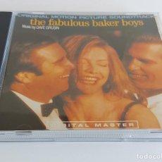 CDs de Música: B.S.O. !! THE FABULOUS BAKER BOYS / DAVE GRUSIN / CD - GRP-1989 / 11 TEMAS / IMPECABLE.. Lote 271990898