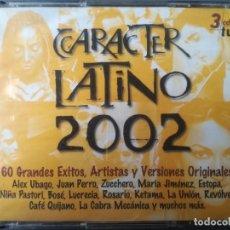 CDs de Música: CARACTER LATINO 2002.. Lote 271998073