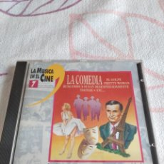 CDs de Música: G-81 CD MUSICA LA MÚSICA EN EL CINE VOL. 7 - LA COMEDIA. Lote 272096148