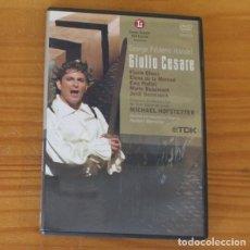 CDs de Musique: GIULIO CESARE -DVD- OPERA GRAN TEATRE DEL LICEU, GEORGE FRIDERIC HANDEL.... Lote 272164853