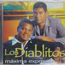 CDs de Música: LOS DIABLITOS - MÁXIMA EXPRESIÓN - CD PROMOCIONAL - RARO - 2001. Lote 272279303
