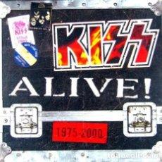CDs de Música: KISS ALIVE! 1975-2000 - COLECCION DESCATALOGADA Y PRECINTADA CON LOS 4 CDS ALIVE DE KISS. Lote 272382198