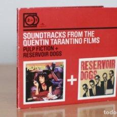 CDs de Música: SOUNDTRACKS FROM THE QUENTIN TARANTINO FILMS - 2 EN 1 - PULP FICTION Y RESERVOIR DOGS - CD. Lote 272435863