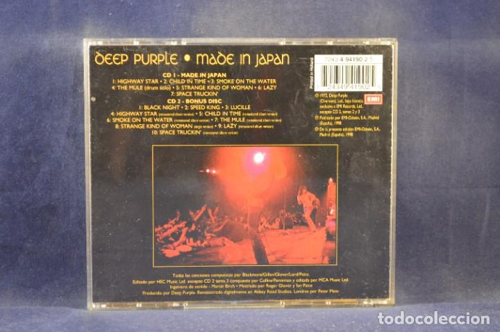 CDs de Música: DEEP PURPLE - MADE IN JAPAN - 2 CD - Foto 2 - 272580443