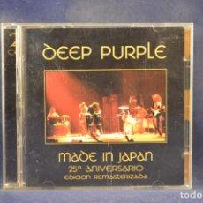CDs de Música: DEEP PURPLE - MADE IN JAPAN - 2 CD. Lote 272580443