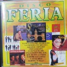 CDs de Música: DISCO FERIA - CD PROMOCIONAL CON SELLOS EN PORTADA DE RADIO TV. Lote 272678053