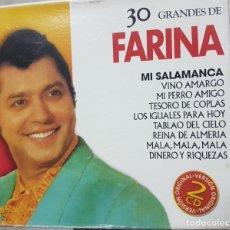 CDs de Música: 30 GRANDES DE RAFAEL FARINA - MI SALAMANCA Y OTROS - 2 CDS - 2003. Lote 272710973