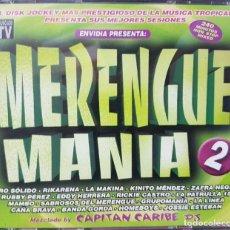 CDs de Música: MERENGUE MANÍA 2 - 240 MINUTOS EN 4 CDS - CAPITÁN CARIBE - ENVIDIA 2003. Lote 272758433