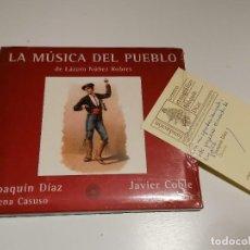 CDs de Música: LA MUSICA DEL PUEBLO DE LAZARO NUÑEZ ROBRES CD. Lote 272947423