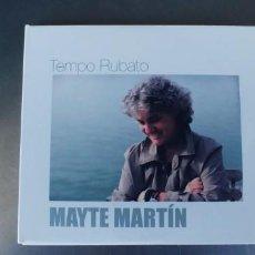 CDs de Música: MAYTE MARTIN-CD TEMPO RUBATO-GATEFOLD-LIBRETO CON LAS LETRAS. Lote 272958938