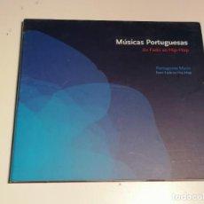 CDs de Música: MUSICAS PORTUGUESAS DO FADO AO HIP-HOP CD. Lote 272968558