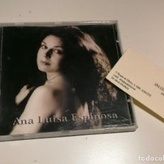 CDs de Música: ANA LUISA ESPINOSA CD MAQUETA. Lote 272981378