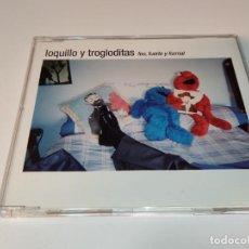 CDs de Musique: 0721- LOQUILLO Y TROGLODITAS FEO FUERTE Y FORMAL 2 TRACKS CD/ DISCO ESTADO BUENO. Lote 272983428