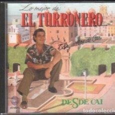 CDs de Música: LO MEJOR DEL TURRONERO - TANGUILLOS DE CAI / CD ALBUM DE 1990 / MUY BUEN ESTADO RF-10198. Lote 273266563