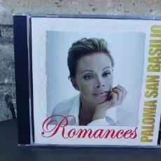 CD de Música: PALOMA SAN BASILIO-CD ROMANCES. Lote 273273403