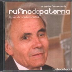 CDs de Música: RUFINO DE PATERNA - LLUVIA DE SENTIMIENTOS / CD ALBUM / MUY BUEN ESTADO RF-10208. Lote 273277953