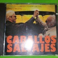 CDs de Música: BSO ORIGINAL DE LA PELÍCULA CABALLOS SALVAJES. REALIZADA POR ANDRÉS CALAMARO. Lote 273348503